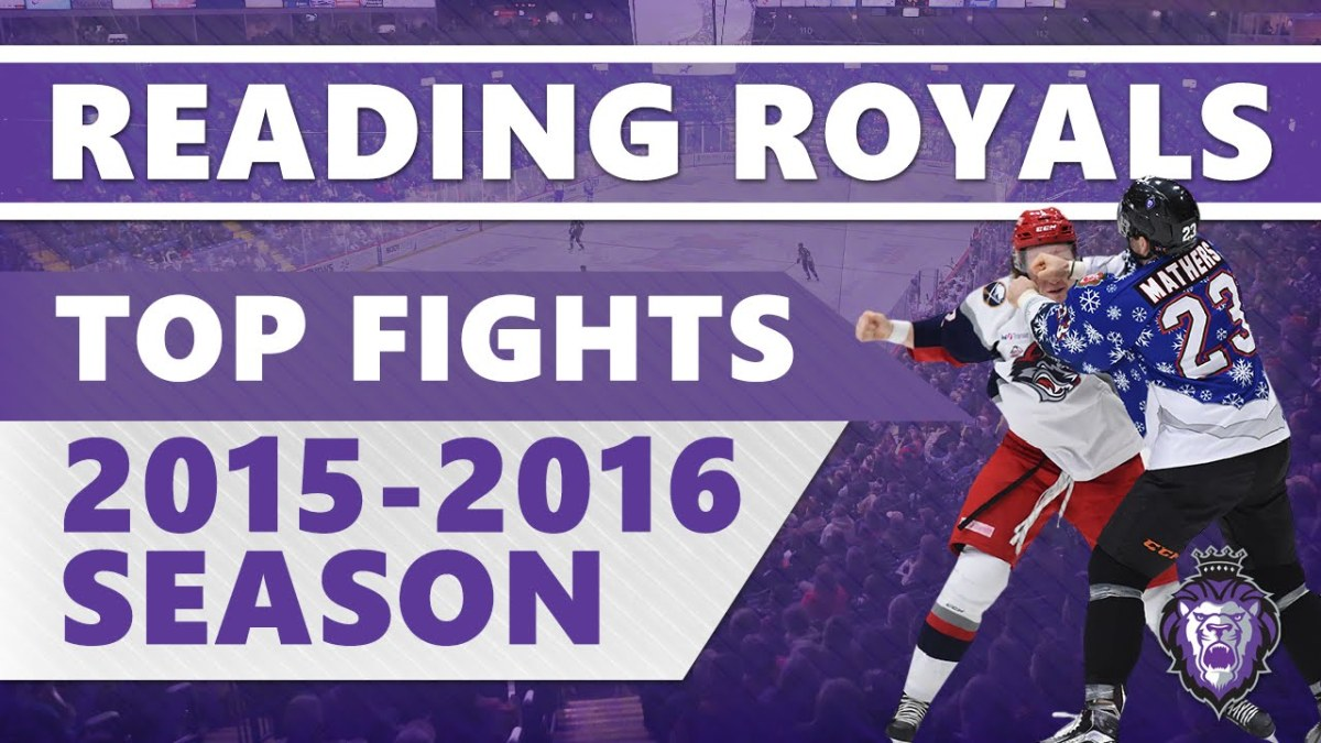reading royals top fights '16 – hockeytube