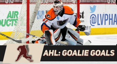 Goals Scored By AHL Goalies