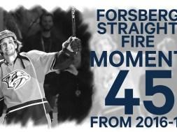 No. 45/100: Forsberg Back-To-Back Hatties