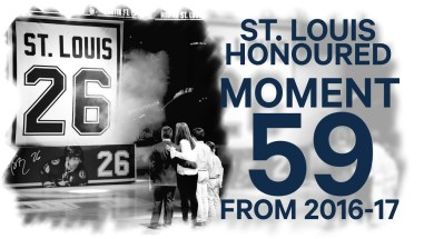 No. 59/100: Martin St. Louis Honored