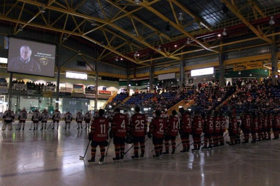 Vernon Vipers Pay Tribute To Owner