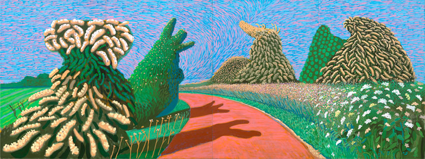 "Image result for david hockney ""spring"
