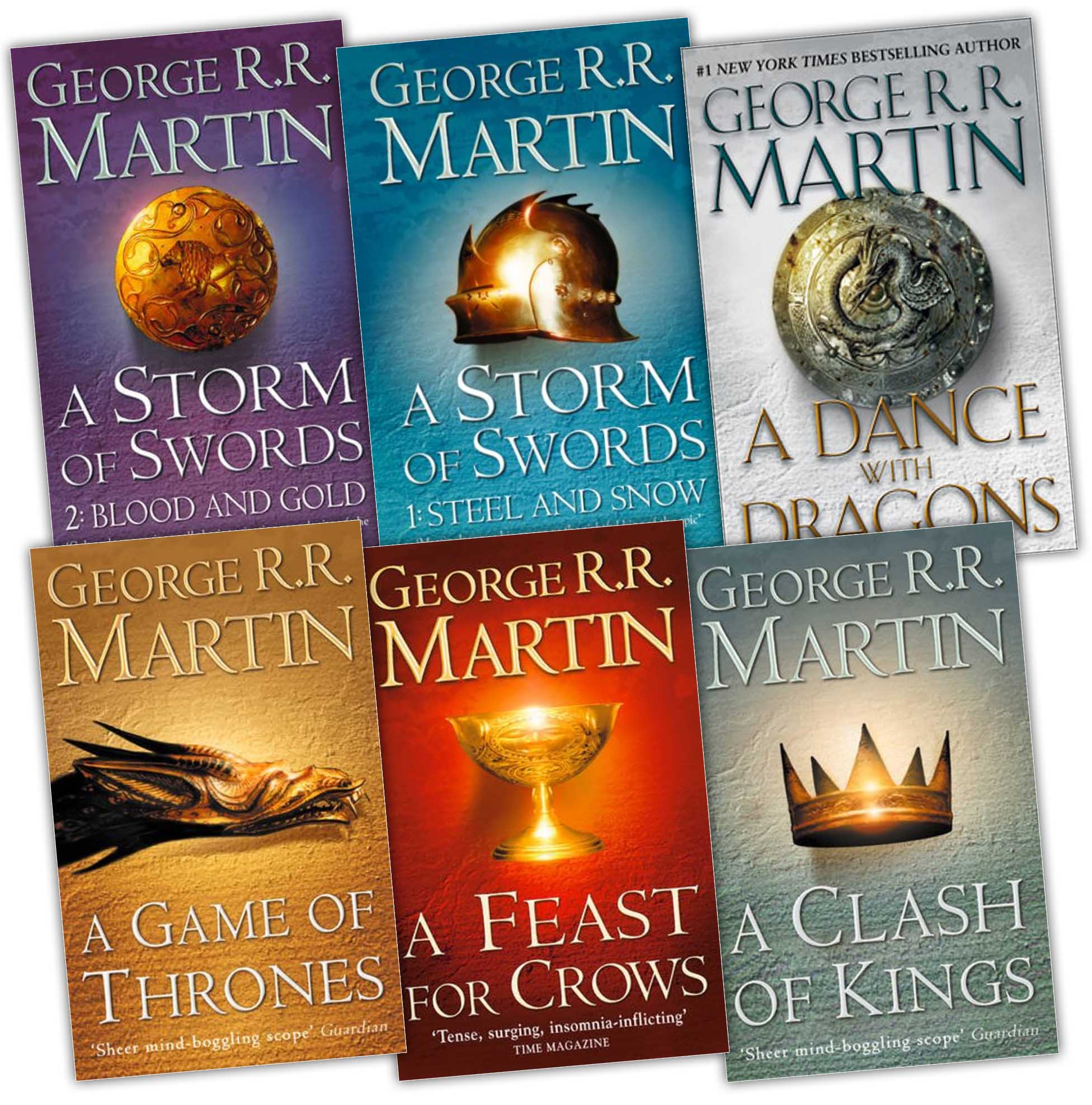 Image result for game of throne book series