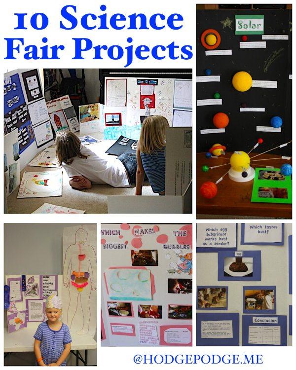 10 Science Fair Project Ideas - Hodgepodge