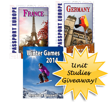 Winter Olympics and Geography Unit Studies Giveaway! www.hodgepodge.me
