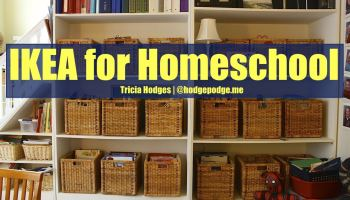 ikea for homeschool organization update - Home School Furniture
