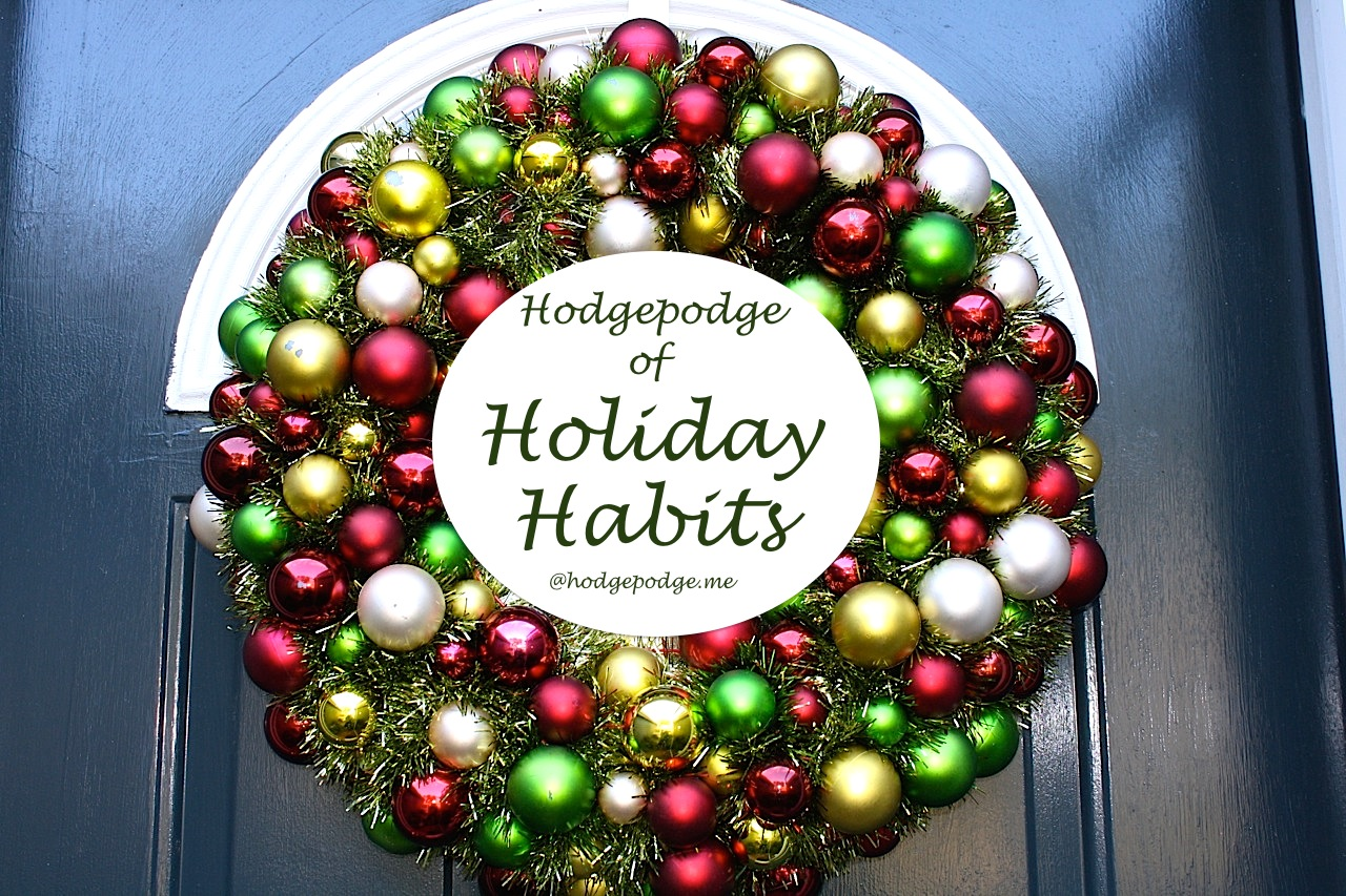 Three gifts for Christmas - Hodgepodge