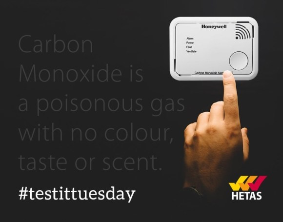 #testittuesday a nationwide scheme to test carbon monoxide alarms and smoke alarms