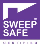 Hodgsons Chimney Sweeps are Sweep Safe certified chimney sweeps covering Exeter, Torquay, Dartmouth and Plymouth