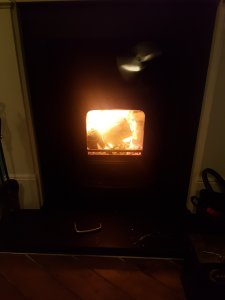 Hodgsons Chimney Sweeps, chimney sweeping and testing a multifuel stove in Newton Abbot