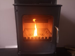 Hodgsons Chimney Sweeps Chimney Sweeping and Servicing a Morso 04 Multifuel Stove in Dartmouth
