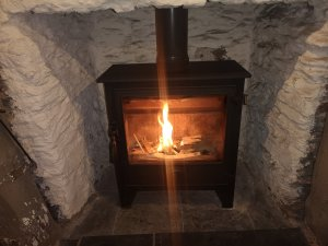 Dean forge Woodburner, Sweep and Service at the Bayards Cove inn Dartmouth