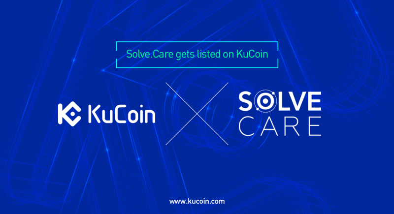 Solve.Care listed at kucoin