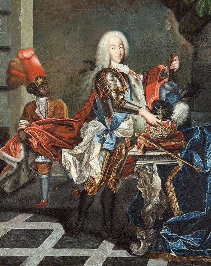 1700s Unknown artist, Portrait of King Christian VI