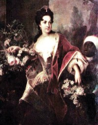 1705 Unknown artist, Portrait of Anna Konstancja Cosel (1680-1765)