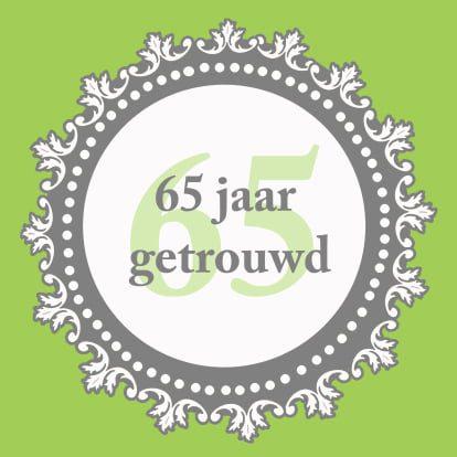 65 jarig huwelijk Echtpaar De Jong uit 's Gravendeel 65 jaar getrouwd   Hoeksch Nieuws 65 jarig huwelijk