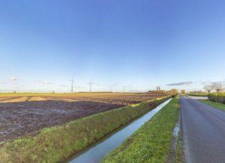 Uitzicht vanaf de kant van Heinenoord.