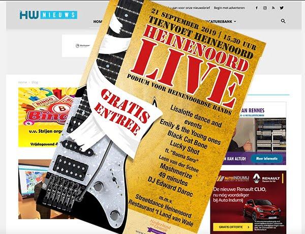 Festival Heinenoord Live in Heinenoord - Hoeksche Waard - Hoeksch Nieuws - Het laatste nieuws uit de Hoeksche Waard