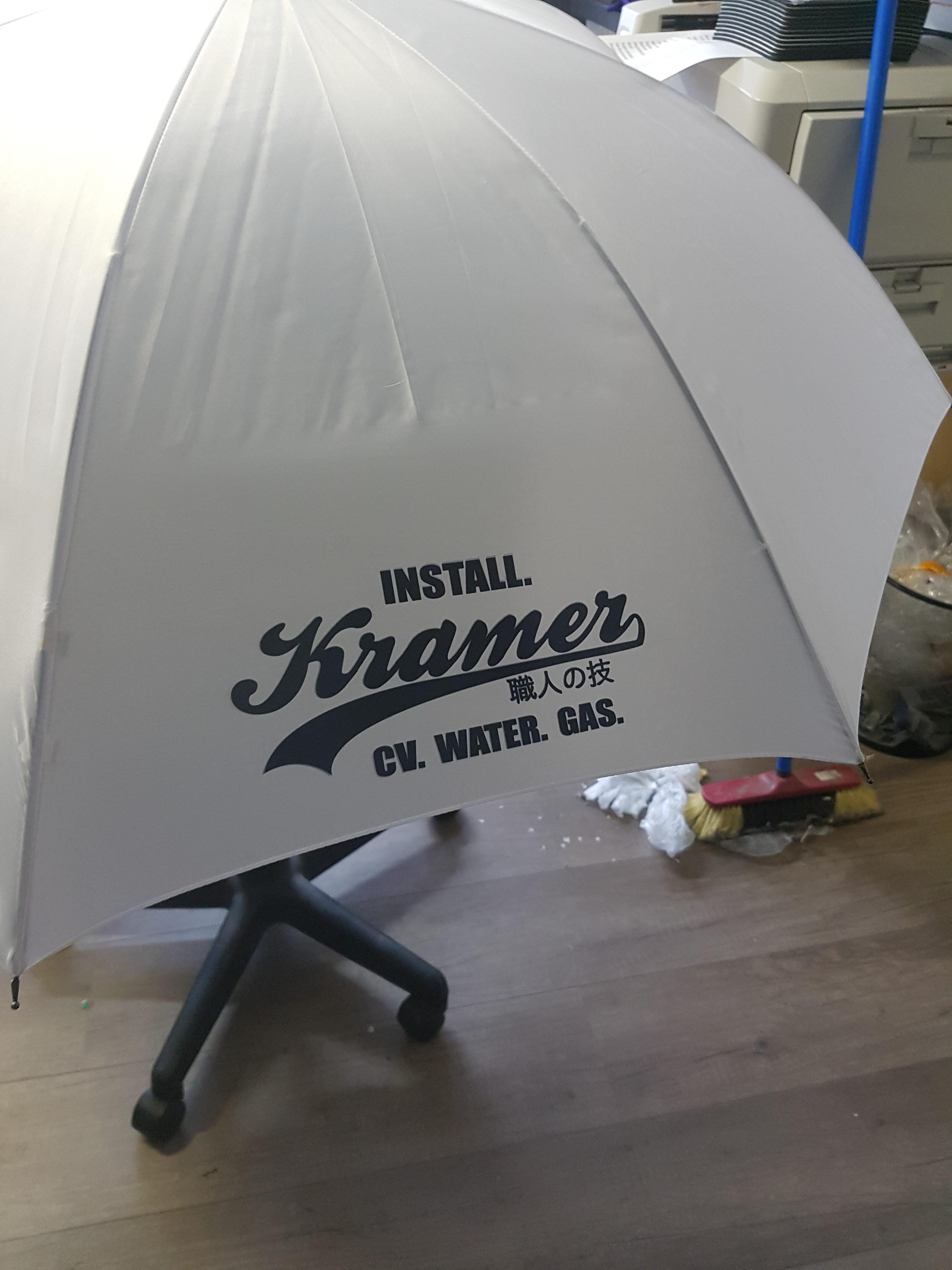 Sublimatie, paraplu.