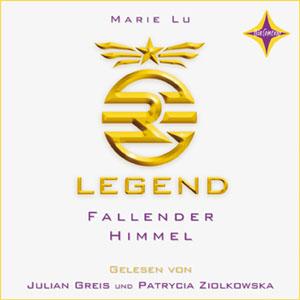 Legend - Fallender Himmel von Marie Lu, Cover mit freundlicher Genehmigung von Hörcompany