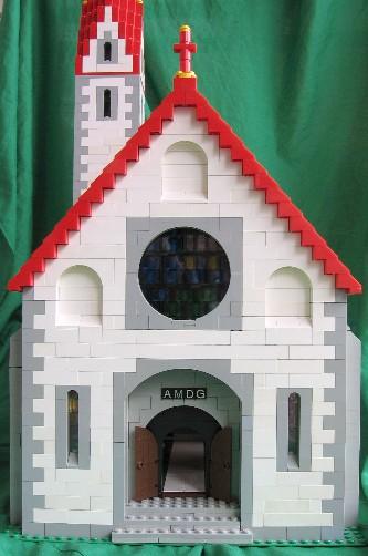 Lego Alpine Village Church