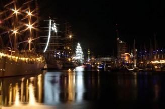 Nachtaufnahmen der Sail 2015 Bremerhaven