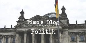 Blog Beitrag Politik
