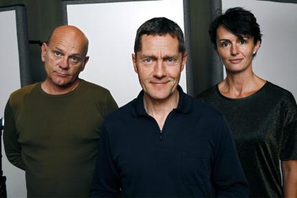 Ulrich Gebauer, Udo Schenk und Bettina Engelhardt in