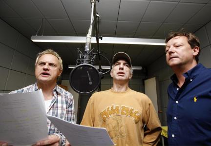 Uwe Ochsenknecht, Ralf Richter und Matthias Brandt; Bild: WDR/Sibylle Anneck