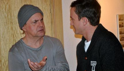 Scholz (Uwe Ochsenknecht) und Latotzke (Sönke Möhring); Bild: WDR/Sascha von Donat