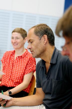 Yvon Jansen, Mathhias Leja und Wolfgang Rüter; Bild: WDR/Freya Hattenberger