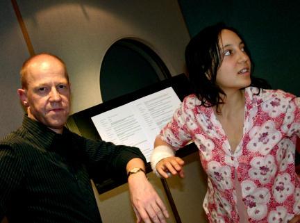 Lutz Herkenrath und Laura Maire; Bild: WDR / S. Anneck