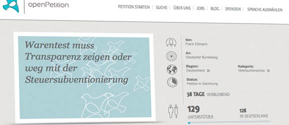 petition-stiftung-warentest-finanztest