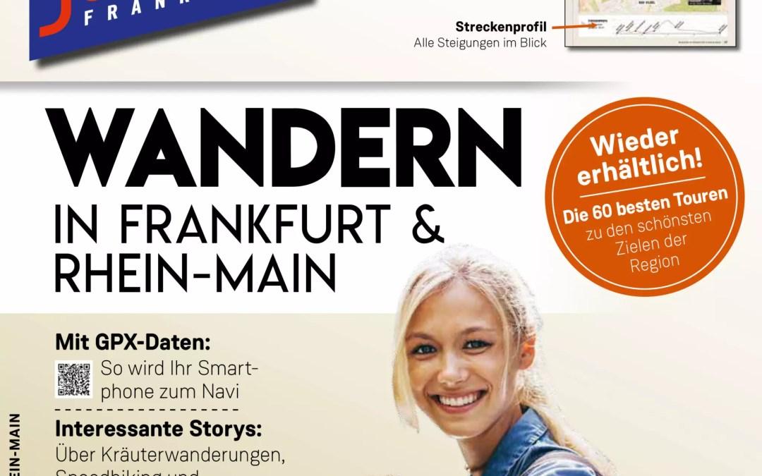 "Wander-Guide ""WANDERN IN FRANKFURT & RHEIN-MAIN"""