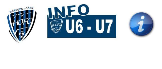[U6/U7] Les infos du plateau d'ODOS