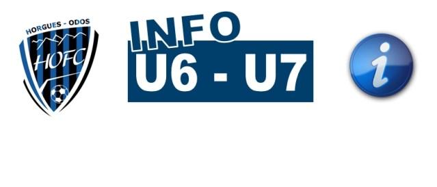 [U6/U7] Toutes les infos pour le plateau du 16/03/2019