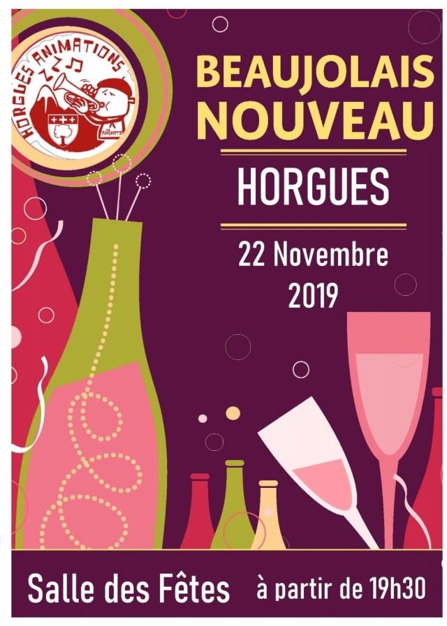 [ANIMATION] Soirée Beaujolais à Horgues