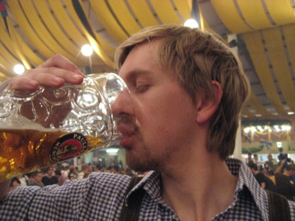 Bier auf der Wiesn