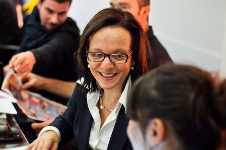 Eventcafé – heute mit Da Capo-Geschäftsführerin Petra Denecke