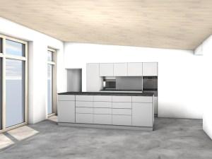Ansicht Küche 1