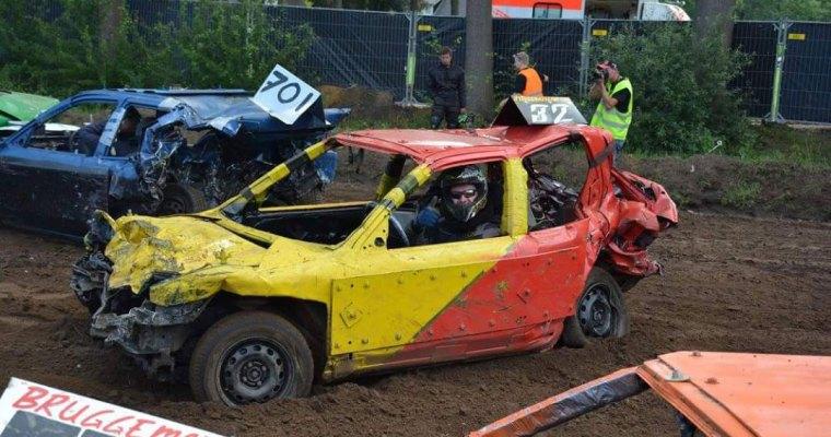 'Bangers rijden geeft een behoorlijke adrenalinekick'