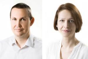 Eszter Simon (Architektin und Lebensmitteltechnologin) und Martin Parapatits beschreiten mit ihrem Unternehmen PhytonIQ neue Wege.