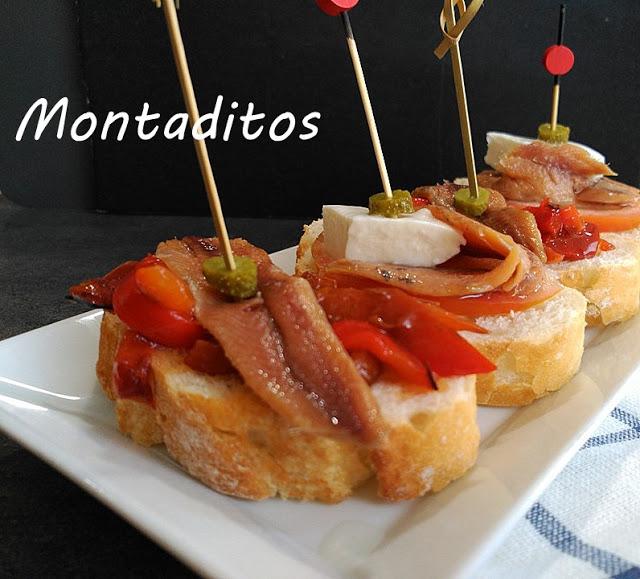 Montaditos De Anchoas Hogar Cocina Facil