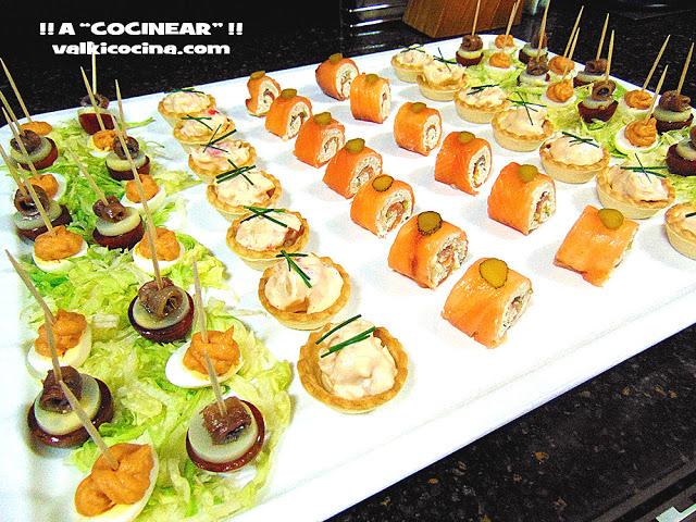 Bandeja de canap s y aperitivos hogar cocina facil for Hogar cocina facil