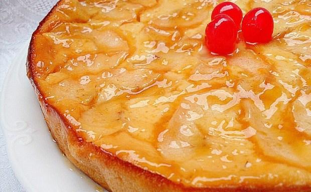 Tarta de queso con fruta sin horno de samantha vallejo for Hogar cocina facil