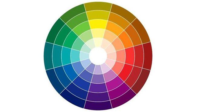 Color wheel colors