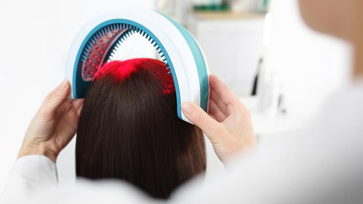 hair laser or low intensity red light treatment for hair growth
