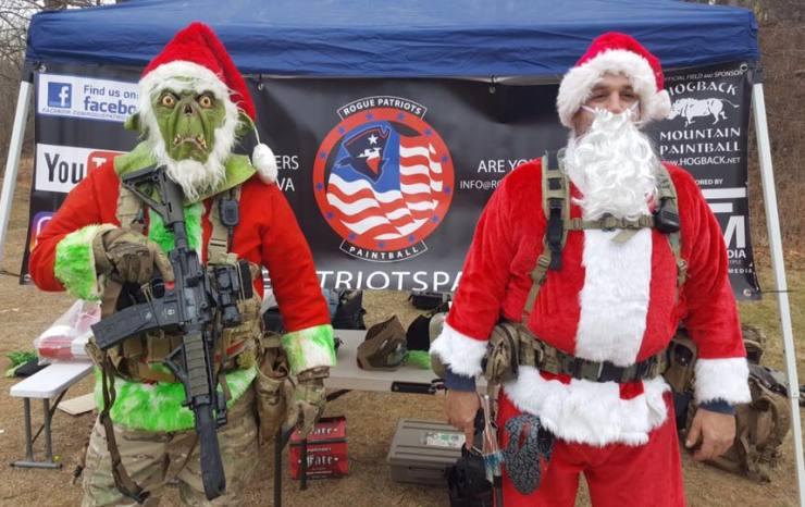 Santa vs. The Grinch