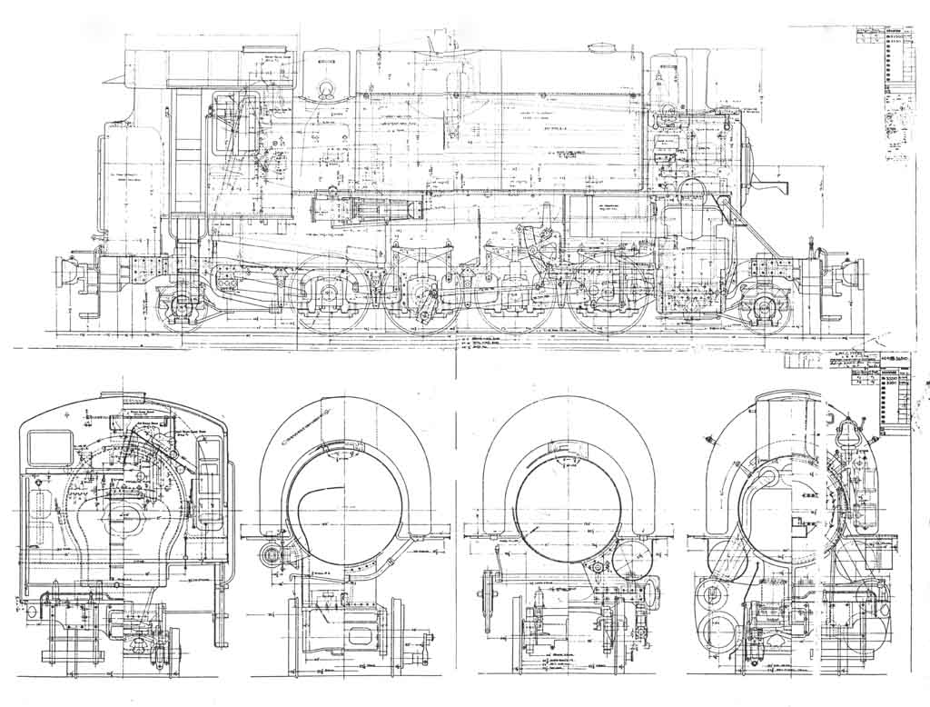 4 4 0 Steam Engine Diagram