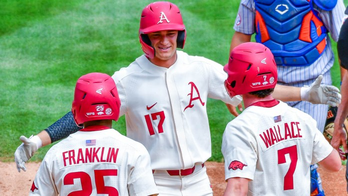 Slavens after blasting pair of homers in finale against Florida
